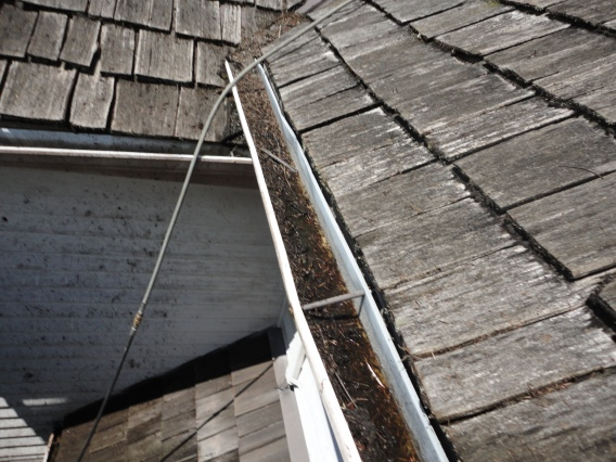 gutter cleaning by PWNG in Seattle