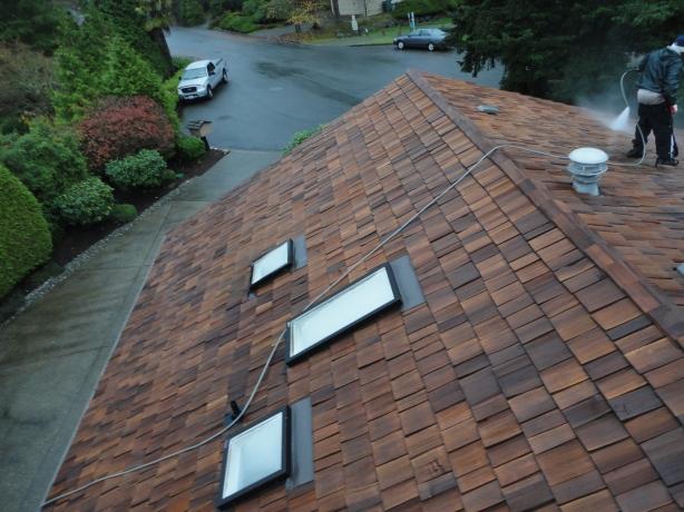 Bellevue Cedar Roof Restore